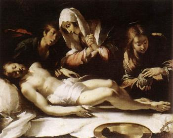 Bernardo Strozzi : Lamentation over the Dead Christ