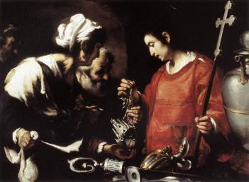 Bernardo Strozzi : The Charity of St Lawrence II