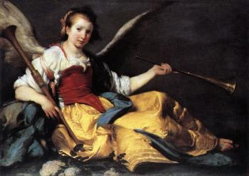 Bernardo Strozzi : A Personification of Fame