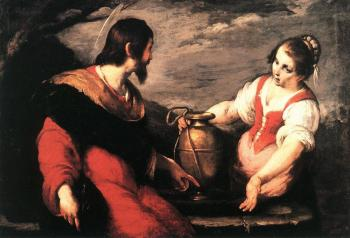 Bernardo Strozzi : Christ and the Samaritan Woman