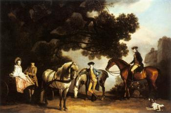 George Stubbs : The Milbanke and Melbourne Families