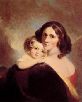 Mrs Fitzgerald and her Daughter Matilda