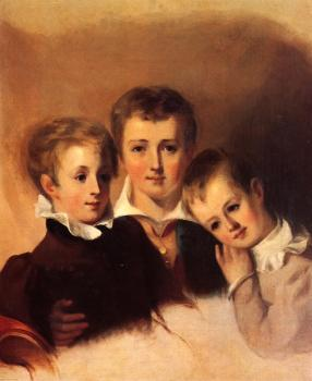 Portrait of the Howell Boys