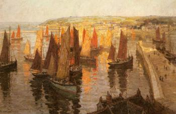Terrick Williams : Red And Gold Brixham