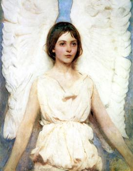 Abbott Handerson Thayer : Angel