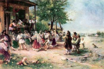 Round dance at aninoasa