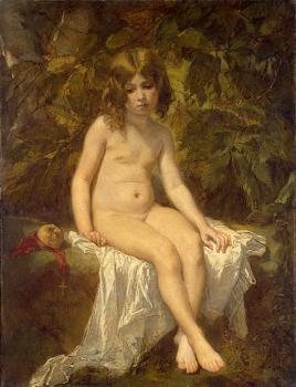 Thomas Couture : The Little Bather