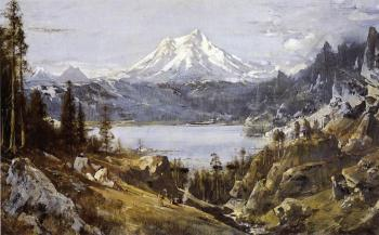 Thomas Hill : Mount Shasta from Castle Lake