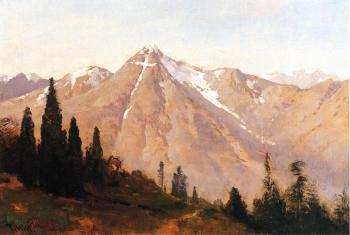 Thomas Hill : Mountain of the Holy Cross