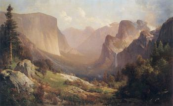 Thomas Hill : View of Yosemite Valley