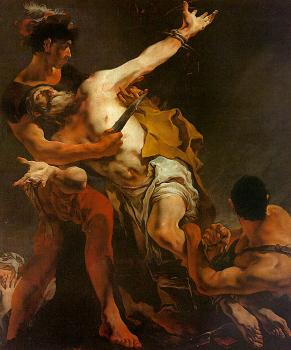 Giovanni Battista Tiepolo : The Martyrdom of St