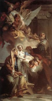 Giovanni Battista Tiepolo : Education of the Virgin