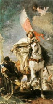 Giovanni Battista Tiepolo : St James the Greater Conquering the Moors