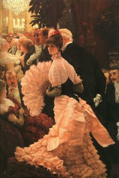 James Tissot : L'Ambitiuse,The Political Lady