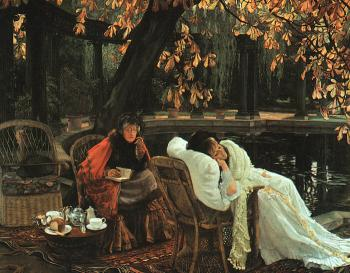 James Tissot : A Convalescent