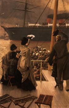 James Tissot : Goodbye on the Mersey