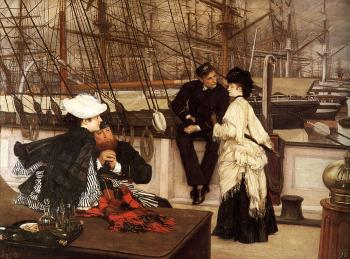 James Tissot : The Captain and the Mate
