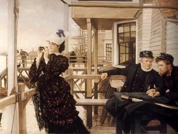 James Tissot : The Captains Daughter