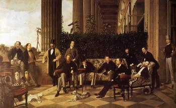 James Tissot : The Circle of the rue Royale