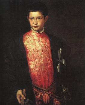Titian : Portrait of Ranuccio Farnese