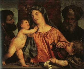 Titian : Madonna of the Cherries