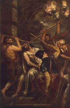 Titian : Crowning with Thorns