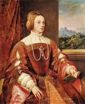 Titian : Empress Isabel of Portugal