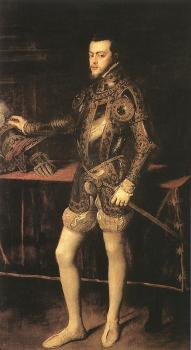 Titian : King Philip II