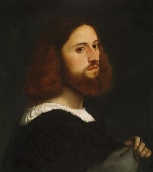 Titian : Portrait of a Man, The Met