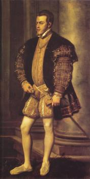 Titian : Portrait of Philip II