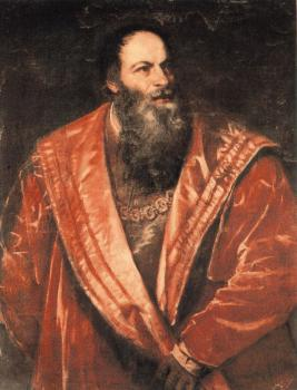 Portrait of Pietro Aretino