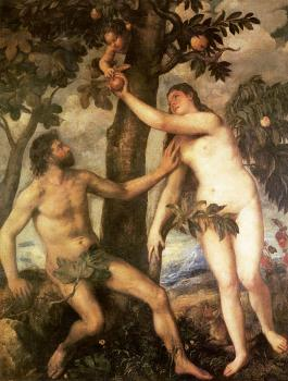 Titian : The fall of man