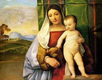 Titian : The gipsy madonna