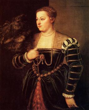 Titian : Titian's daughter Lavinia