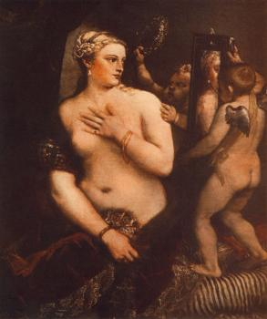 Titian : Venus at her Toilet