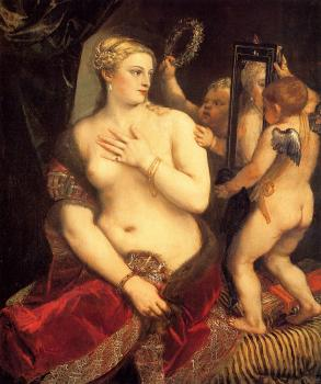 Titian : Venus in front of the mirror