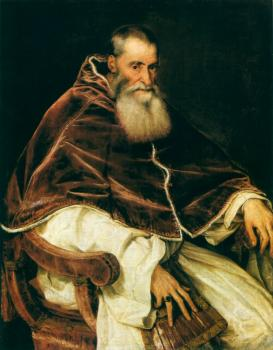 Titian : Portrait of Paul III