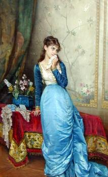 Auguste Toulmouche : The Love Letter