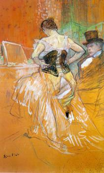 Study for Elles Woman in a Corset