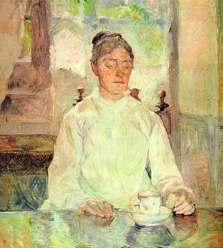 Portrait of Comtesse Adele-Zoe de Toulouse-Lautrec ,The Artist's Mothe