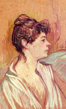 Henri De Toulouse-Lautrec : Portrait of Marcelle
