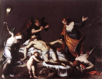 Alessandro Turchi : The Lamentation over the Dead Christ