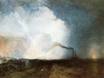 Joseph Mallord William Turner : Staffa, Fingal's Cave