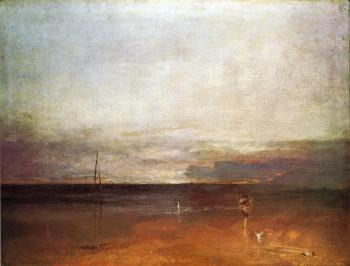 Joseph Mallord William Turner : Rocky Bay with Figures II