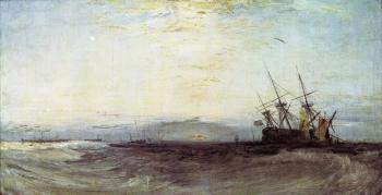 Joseph Mallord William Turner : A Ship Aground