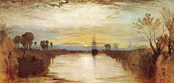 Joseph Mallord William Turner : Chichester Canal