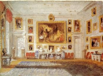Petworth,the Drawing room