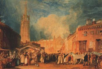 Joseph Mallord William Turner : Louth, Lincolnshire