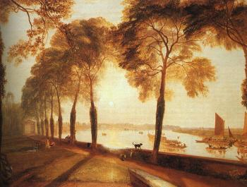 Joseph Mallord William Turner : Mortlake Terrace