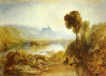 Joseph Mallord William Turner : Prudhoe Castle, Northumberland